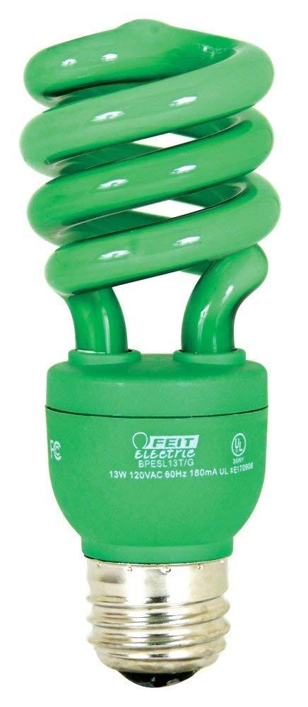 Feit BPESL13T//PK 13-watt Mini Twist Pink Medium Base 60-watt Equivalent Light Feit Electric Company