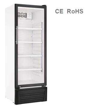 190L Hot Sale New Product Convenience Store Beverage Display Vertical Freezer
