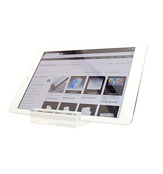 Clear Thick Acrylic Heavy Duty Table Stand Tablet Holder