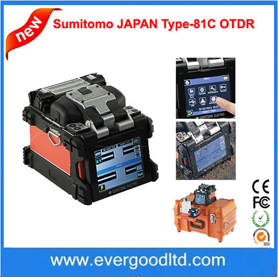 Fiber Optic Fusion Splicer Japan Welding Machine Sumitomo Type-81c ...