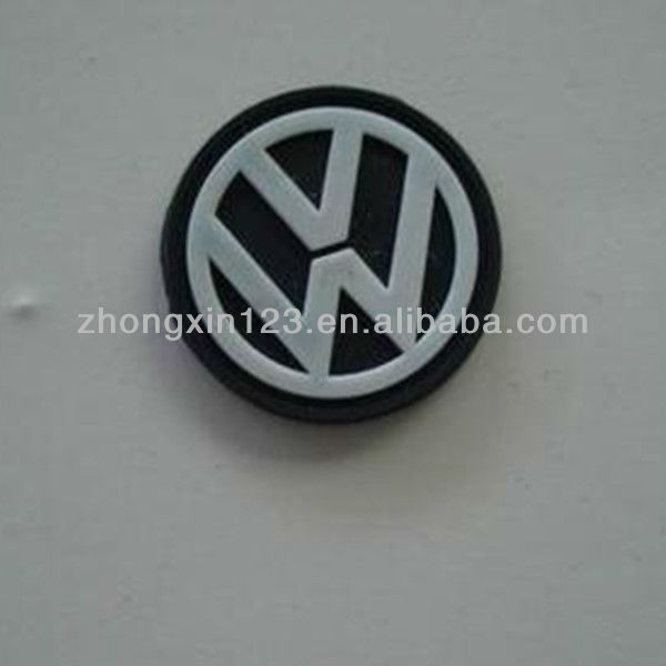 Sport type soft silicone rubber trademark of cars