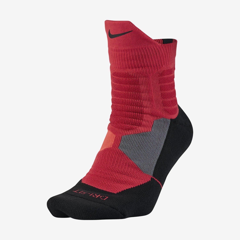 6df3e240c2a4 Get Quotations · Nike Women s Hyper Elite Basktball High Quarter Socks Small  (Fits Women 4-6 Shoe