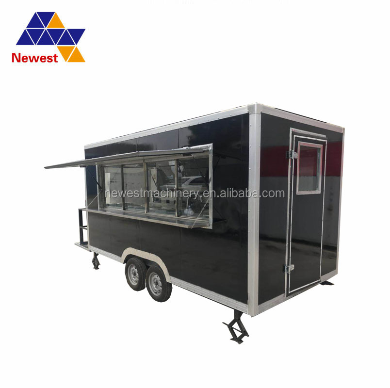 CE Approval Food Truck Trailers With Snack Machines/Snack Car
