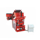 QMR2-10 Automatic clay soil interlocking brick making machine press ecological bricks compressed earth blocks machines