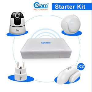 TCP/IP Wireless Digital Talking Home Alarm Security Automation System With Ethernet Port