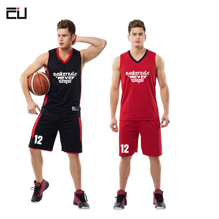 OEM Custom Basketball Uniforms Jersey Printing Design Reversible Basketball  Jersey Set for Men 414552709