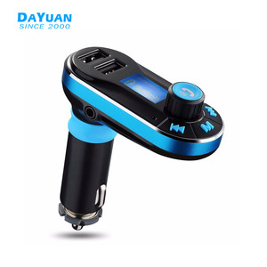 12V Bluetooth Car FM Transmitter Dual USB Charger MP3 Player Handsfree Car Kit