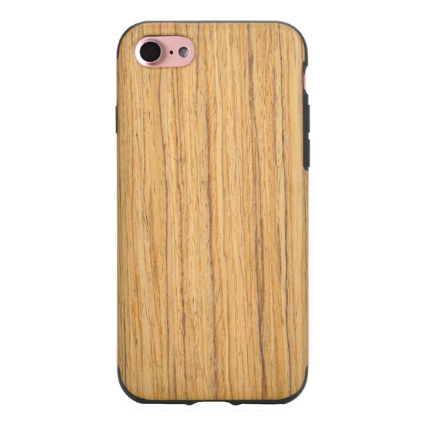 New products vintage ultra thin soft TPU wood pattern back cover phone case for iPhone 7