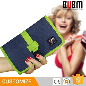 BUBM Waterproof Multifunctional Storage Carry Protection Pouch Cable Organiser Case Bag for U disk Flash Drive SD Card