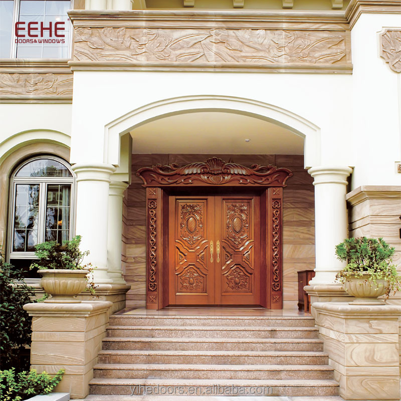 Modern Main Door Design Super Size Wooden Exterior Double Door Buy Wooden Double Doors Exteriormain Door Design Super Sizecommercial Exterior