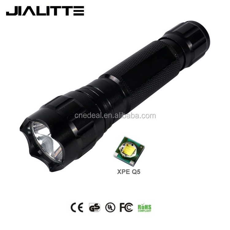 Jialitte F016 Super Bright 1800LM <strong>CREEs</strong> Q5 High Power Military Tactical LED Flashlight