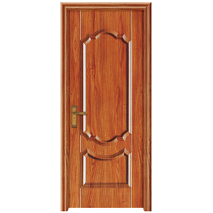 Nice look fitting commercial swing opening melamine wooden door