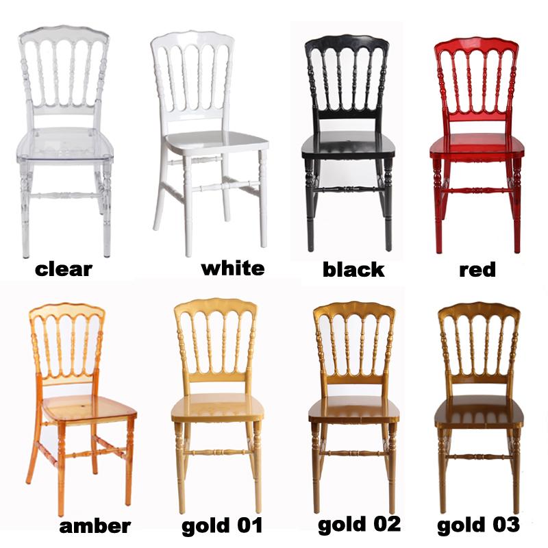 Comercio garant a de calidad pc resina napoleon silla de la boda proveedor sillas de comedor - Proveedores de sillas ...