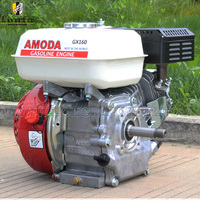 6.5hp 4 stroke small petrol gasoline engine for marine ship outboard inboard boat machines machinery