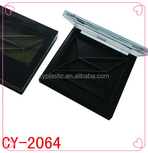 eyeshadow palette with mirror ,empty eyeshadow boxes Model CY-2064