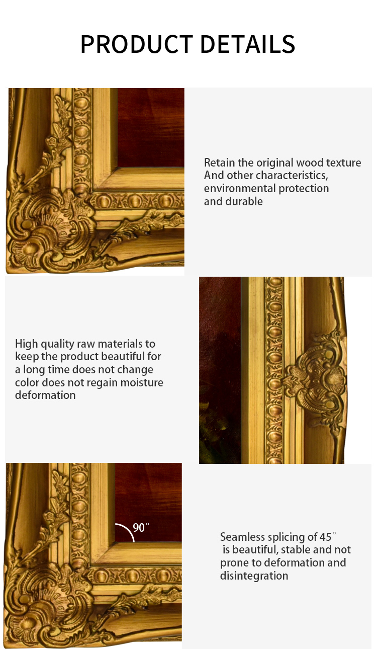 China Manufacturer Wholesale Custom PS  Photo Frame Moulding