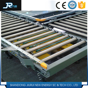 2016 China professional carbon steel galvanized gravity conveyor roller  chain driven roller conveyor belt