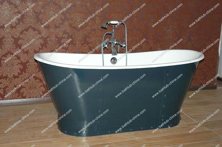 Antique Soaking Bath/ Bateau Freestanding Tub/cast Iron Bathtub ...