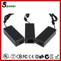 Desk-type 12V 5A Switching Power Supply 60W with Canada USA CE Certification