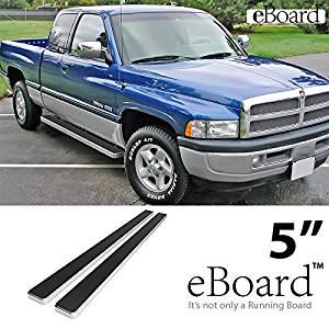 "02-08 Dodge RAM 6/"" Step Steel Metal Running Board Side Steps Nerf Bar Offroad"