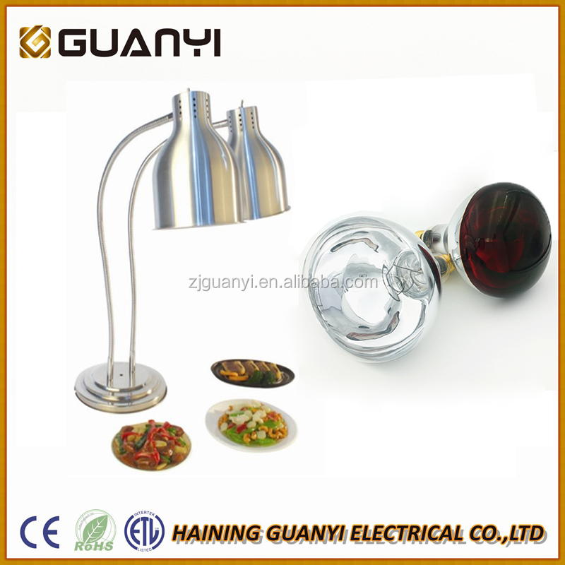 BR40 Hotel use food heat lamp to keep food warm with CE ETL RoHS certificates