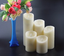 dancing flame led candle/flameless moving wick led candle wholesale wedding gift