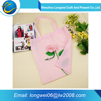 Clothes packing and retail store printed polyester handbag shopping bags