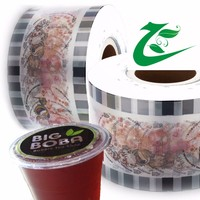 Easy open premium quality jelly cup sealing film on roll