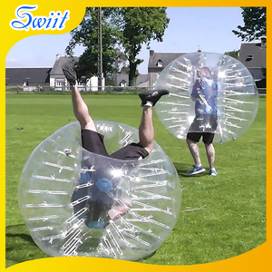2018 Fashionable 1.0mm PVC Bumper Body Zorbing
