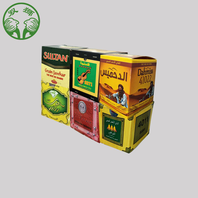 Giand lion 41022AAA Chunmee green tea for Morocco , Algeria - 4uTea | 4uTea.com
