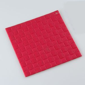 FDA And LFGB Reusable Wholesale High Quality Silicone Hot Pad