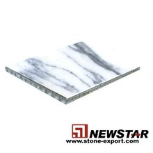 Marble honeycomb tile, marble laminated, aluminum honeycomb compound tile