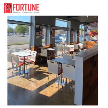 Cheap Modern Furniture Mesas Rectangular Y Sillas Para Restaurante