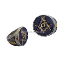 High Quality Custom Masonic Men's Ring