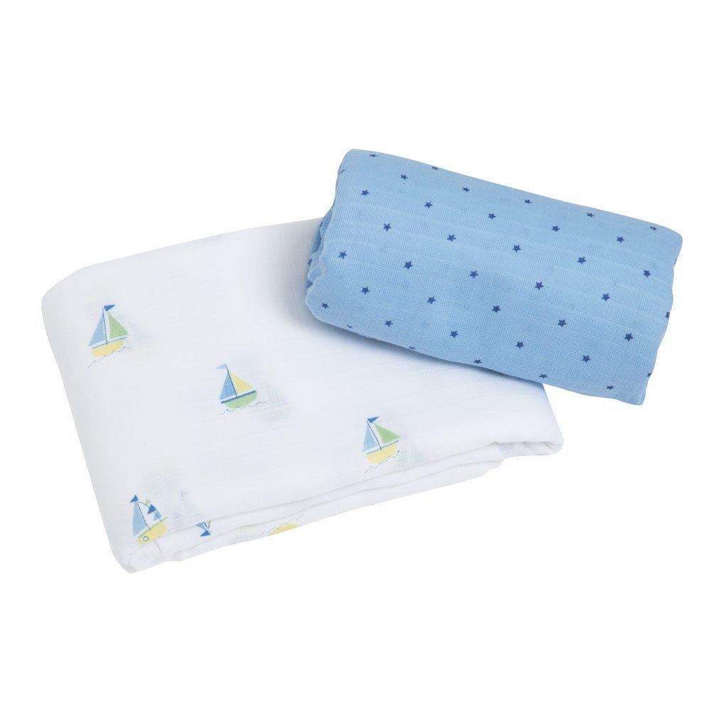 Muslin Cloth 70 x 70 cm in grey children/'s scarf Unisex