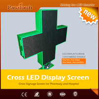 PanaTorch Double Sided P10RG Digital Billboard Display IP65 Waterproof superior radiating For clinique