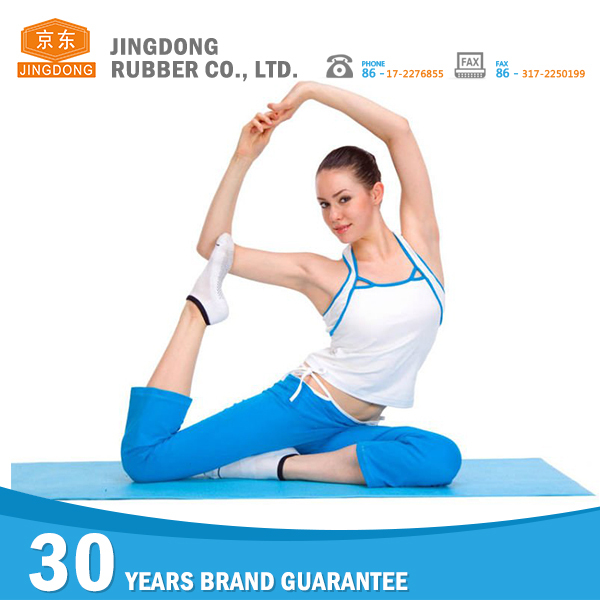 Customized anti slip eco friendly yoga mat