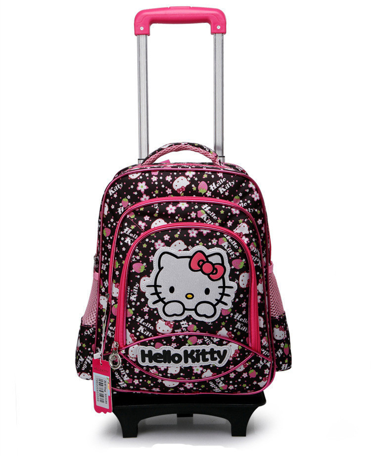 Hello Kitty Trolley Case New Hello Kitty Suitcase Student Detachable Travel Suitcase For Girls Luggage on Wheels Trolley Case