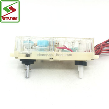 LG high quality cheap washing machine timer 15 minute with double shaft 3 wires dxt15 Washing Machine Timer with wires parts