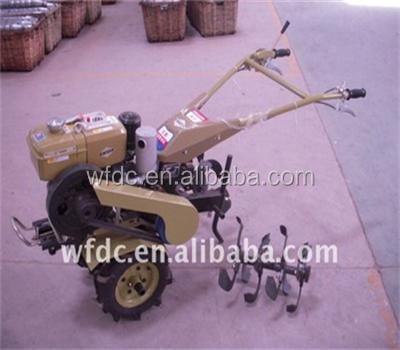 India hot sale Agriculture Machinery Equipment 52cc power tiller and rotavator for sale