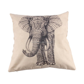 professional handmade printed decorative beads pillow