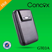 Personal gps tracker/mini Gps tracker with Android APP/one year warranty Concox GT03A