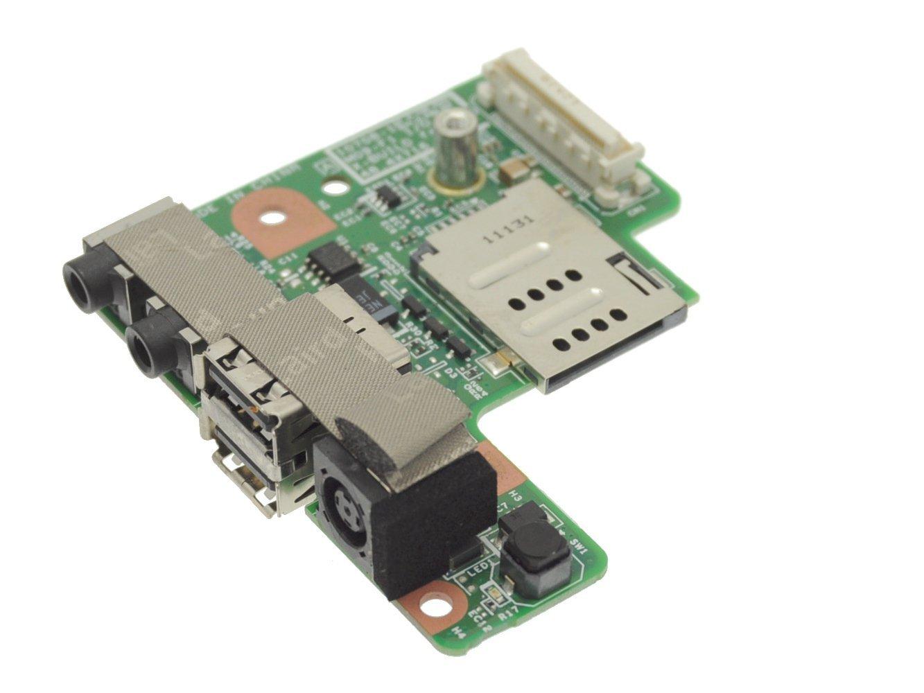 Dell Latitude E5400 DC Power Jack IO Circuit Board for UMA Motherboard with Intel Video - C959C