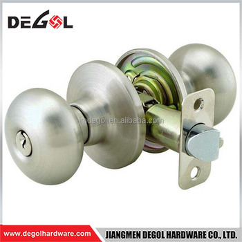 High End Fire Resistant Italian Design Commercial Cylindrical Door Knob  Lock With Ball