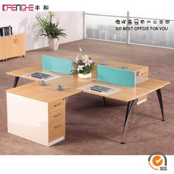 Nuevo Diseño Turco Empresas De Muebles Estación De Trabajo Para 4 ...