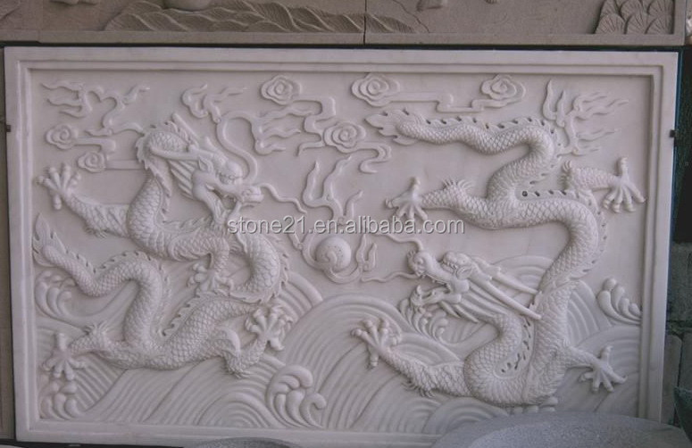 White jade marble relief sculpture buy
