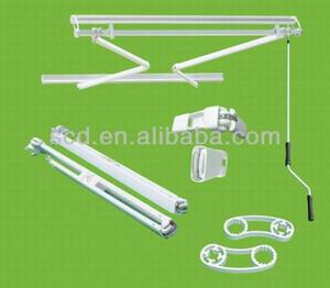 aluminum frame motorized side retractable awning/ parts wholesale China