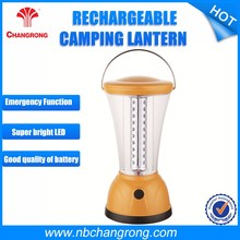 Long working time rechargeable competitive price high quality LED solar lantern with emergency