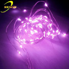 RS-WL001 Yellow star LED Christmas Light LED copper wire lights