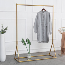Brass Metal Gold Hanging Clothing Dress Display Racks/Luxury High End Furniture display furniture/ Cloth Store display stand
